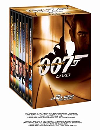 Amazon The James Bond Collection Vol 2 Special Edition