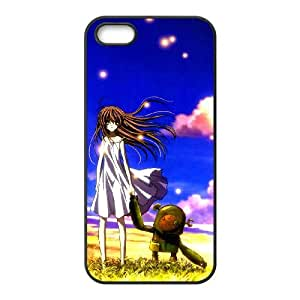 iPhone 5 5s Cell Phone Case Black Clannad Q0299668