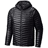 Mountain Hardwear Men's Ghost Whisperer Hooded Down Jacket, Black, L