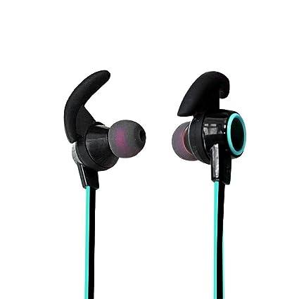 08772fbc9c4 LoongSon Bluetooth Headphones, Best Wireless Sports in Ear Earbuds with Mic  HD Stereo Bluetooth 4.2 Sweatproof Headset, Mini Earphones for Gym Running  ...