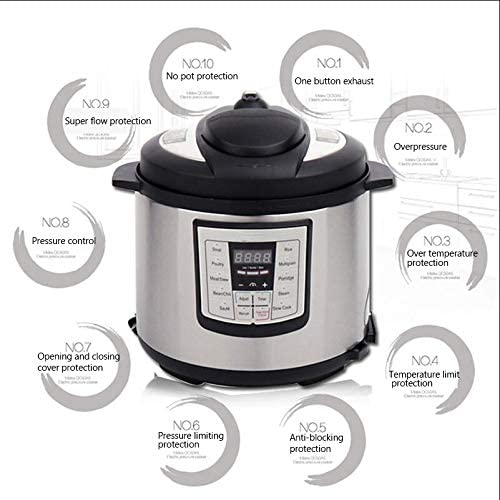 10 Cup Non-Stick Pot Multipurpose Electric Rice Cooker Food Warmer Home Kitchen