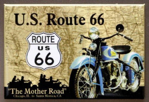 2x3-route-66-the-mother-road-motorcycle-retro-vintage-locker-refrigerator-magnet