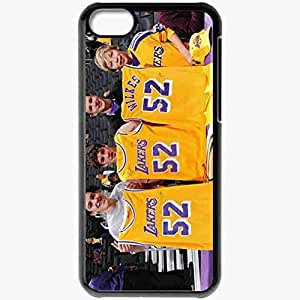 Personalized iPhone 5C Cell phone Case/Cover Skin AB Blzrs Lkrs Black