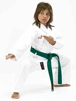 FujiMae - Karate traje, color Weiß, tamaño large: Amazon.es ...
