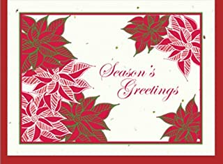 product image for Grow A Note® Holiday Poinsettias Card 4-Pack