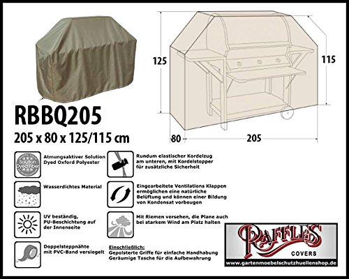 RBBQ205 BBQ Grill Abdeckhaube Gasgrill Schutzhülle Outdoor-Küchen Haube Grillabdeckung
