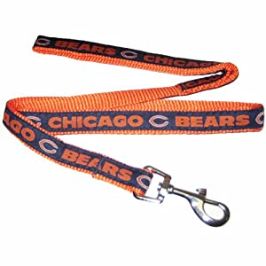 Pets First NFL Chicago Bears Pet Leash, Large