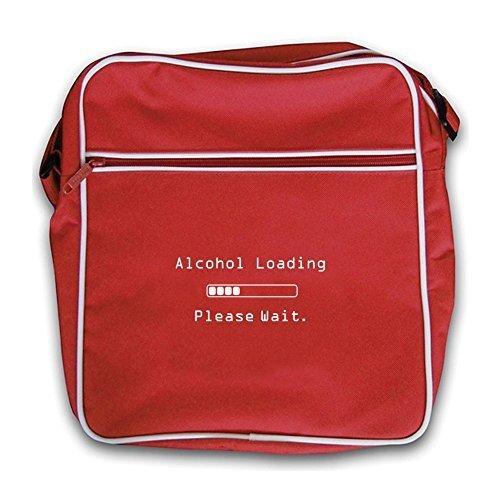 Alcohol Retro Please Red Flight Bag Loading Dressdown Wait T7Zaq
