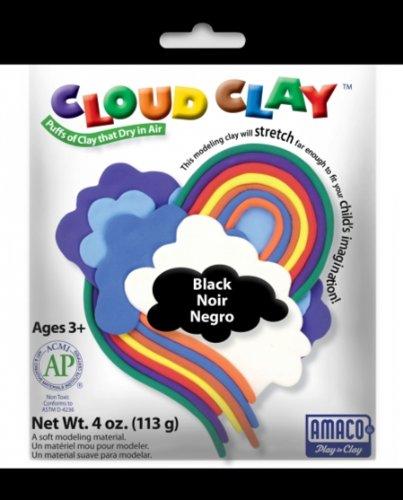 UPC 039672302129, AMACO Cloud Modeling Clay, Black, 4-Ounce