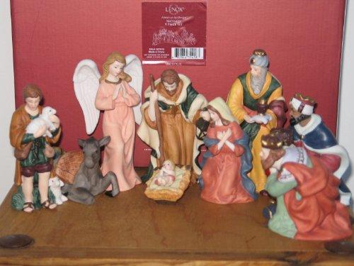 Lenox American By Design Nativity 9 Piece Set (Lenox Nativity)