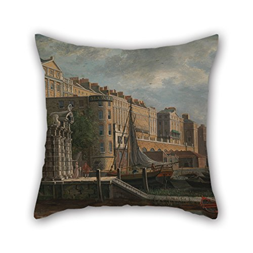 [Alphadecor Oil Painting Daniel Turner - York Water-Gate And The Adelphi Cushion Covers 18 X 18 Inches / 45 By 45 Cm Best Choice For Club,car Seat,wife,lounge,bar Seat,living Room With Twice] (Monster High Costumes Walmart)