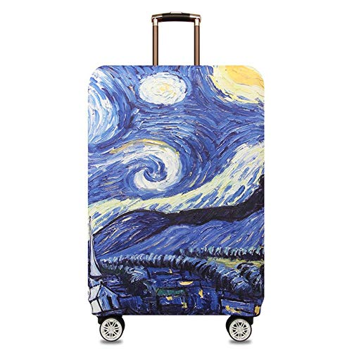 Luggage Cover - Suitcase Covers - Luggage Skins Cover World Map Design Luggage Protective Cover Travel Suitcase Cover Elastic Dust Cases For 18 to 32 inchs Travels by AloPW