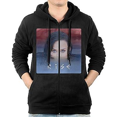 TOGETHER WE #RISE# Katy Perry Zip Up Hoodie Men Design