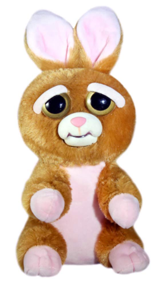 Feisty Pets Vicky Vicious Adorable Plush Stuffed Bunny That Turns Feisty with a Squeeze FP-BUN