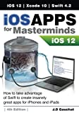 Learn how to create apps for iOS 12 before anyone else. This is the first book to teach you how to work with Swift 4.2, Xcode 10, iOS 12 and the new APIs introduced by Apple.iOS Apps for Masterminds leads the reader step by step to master the complex...