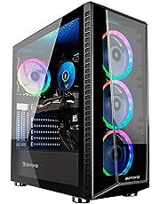$659 » iBUYPOWER TraceMR 150i Gaming Desktop Computer, Intel Core i3-10100F 3.6GHz, 8GB RAM, 480GB SSD, NVIDIA Geforce GTX 1650 4GB, Windows 10 Home