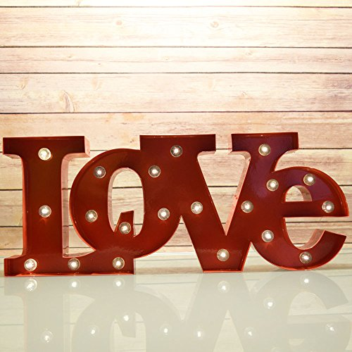 Funky Decor with LED Wall Words - Love, Joy and Faith : Funk This House