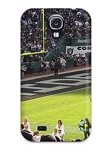 Cute Appearance Cover/tpu FsAsXUf1643aebji Oaklandaiders Case For Galaxy S4
