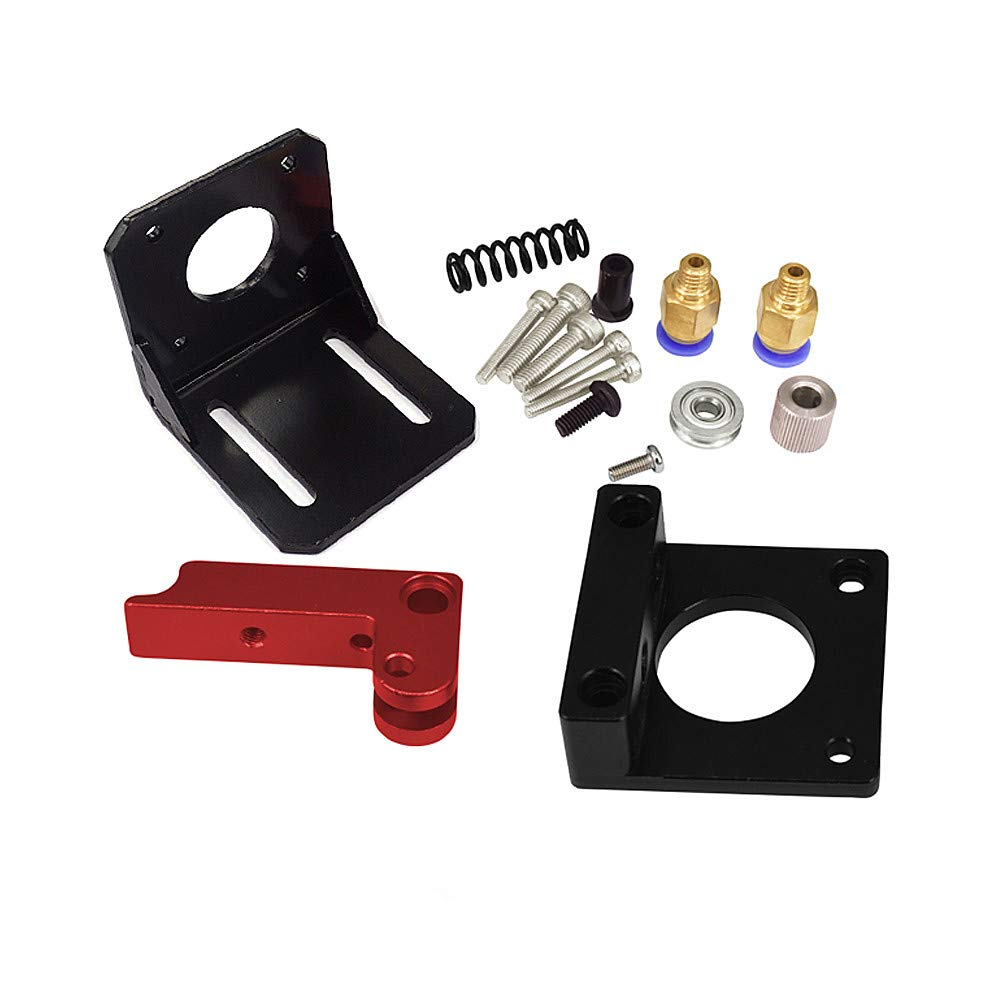 MK8 All-Metal 1.75mm Remote Extruder Kit for 3D Printer Makerbot Reprap (New Style, Right Hand) Uranny