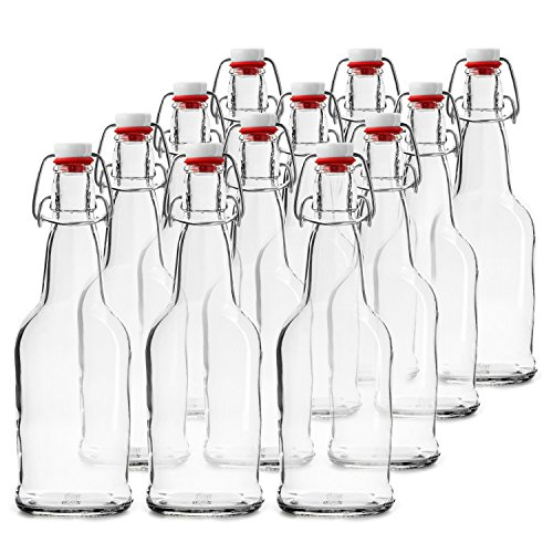 Chef's Star CASE OF 12-16 oz. EASY CAP Beer Bottles - CLEAR by Chef's Star (Image #1)