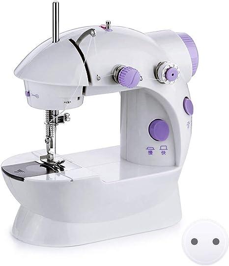 Manual DIY Profesional M/áquina de coser compacta y port/átil blanco M/áquina de Coser
