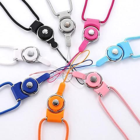 ZYWX Smartphone Lanyards Neck Strap for Camera Cell phone MP3 MP4 and Electronic Devices Mobile Phone USB Holder DIY Hang (Phone Mp4)