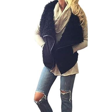 Ropa de Mujer Ropa Mujer Invierno Las señoras Chaqueta de Piel de Zorro Sexy Abrigo de Invierno Outwear Chaleco Caliente Chaleco suéter Tops Blusas ...
