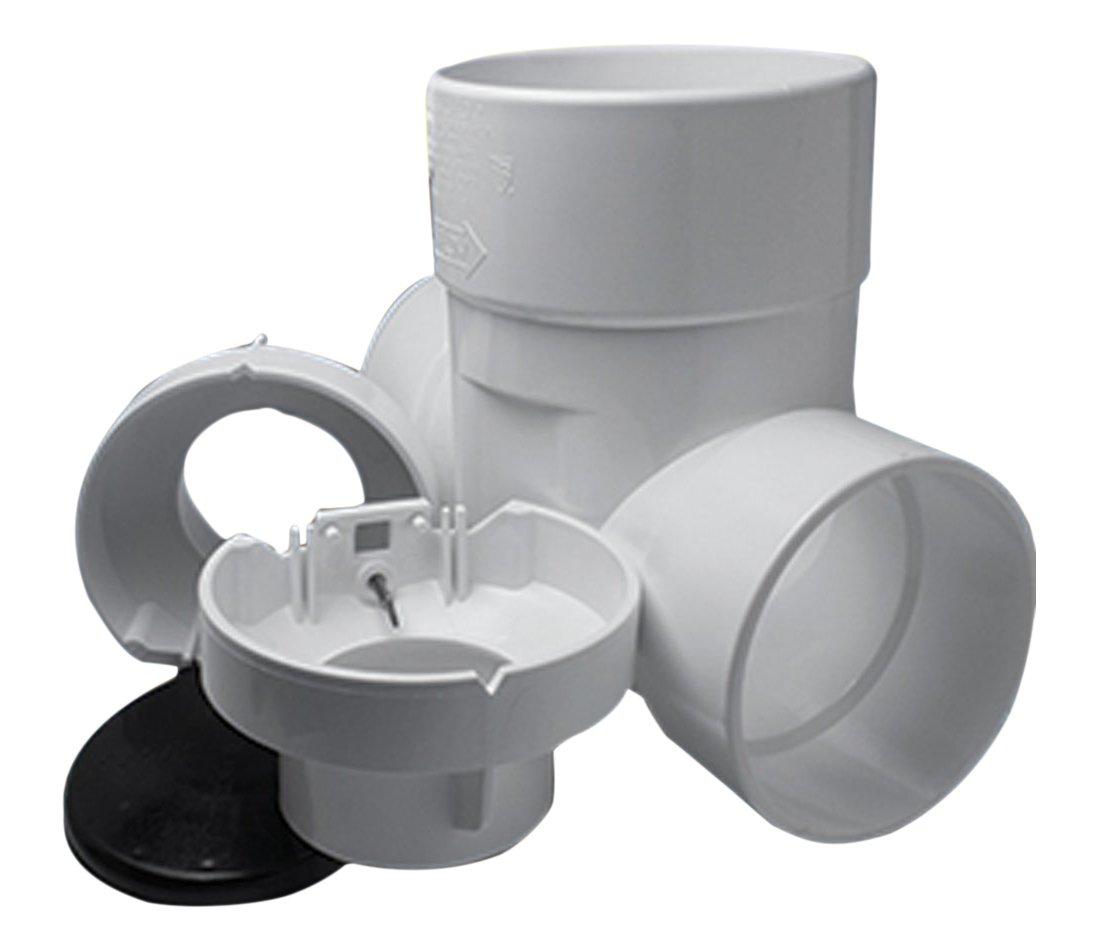 4 4 Standard Plumbing Supply Rectorseal 96922 PVC Clean Check Backwater Valve