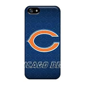 phone covers iPhone 5c KyT35c46pqCH Customized Realistic Chicago Bears Image Shock Absorption Hard Phone Cases -JamieBratt