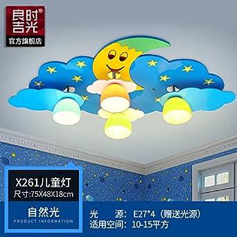 KANG@ Iluminación de techo de interior Cartoon cálida ...
