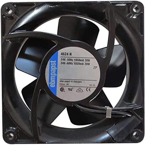 For 1 pcs ebmpapst 4600N Fan AC 115V 20W 120 × 120 × 38mm