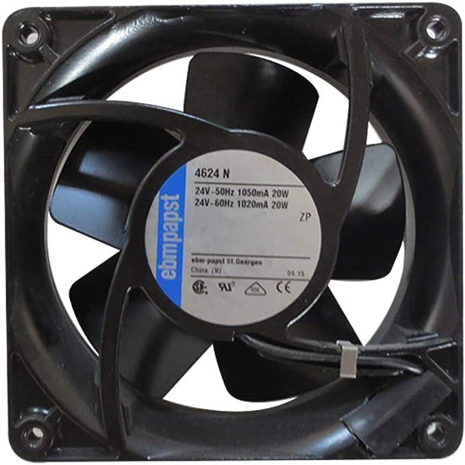 2 DC 24VDC 120x120x38mm Axial 54dBA 322,8m3//h 16,5mmH2O PMD2412PMB1-A . Fan