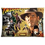16x24 inch 40x60 cm cushion pillow cases Cotton Polyester shine Breathable Indiana Jones and the Last Crusade