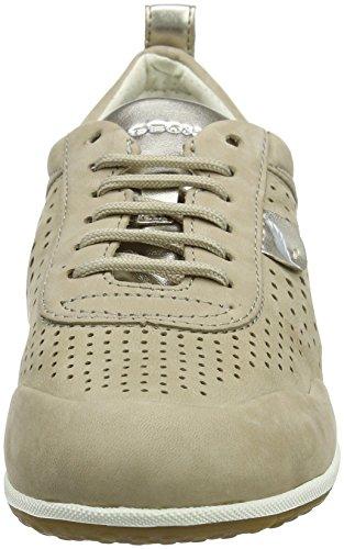 B Damen Beige Geox beige Vega Chaussure D aUqnwSC