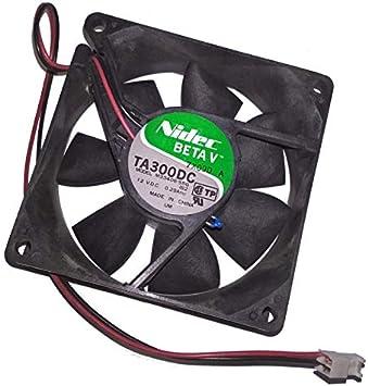 Nidec Ventilador PC ta300dc m33406 – 55 G 06h1795 80 x 80 x 25 mm ...