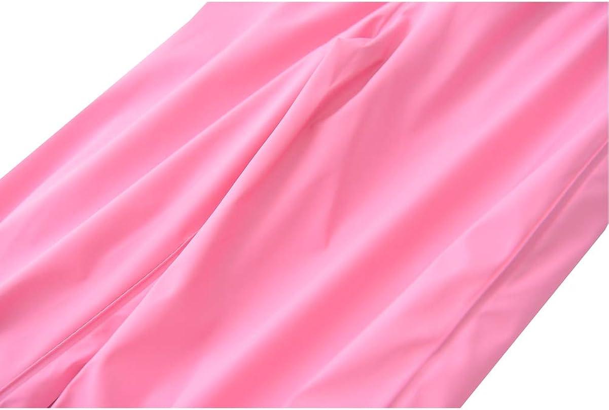 M2C Boys Girls Reflective Waterproof Rain Pants Lightweight Rainwear