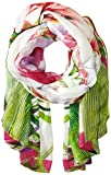 Ted Baker London Women's Tropika Floral Scarf ,Ivory,One Size