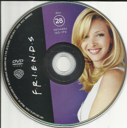 Friends The Complete Series Disc 28 Episodes 165-170 Replacement Disc!