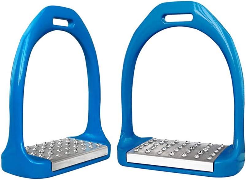 Grand support de pied Antid/érapant acier inoxydable Pivotant /Étriers d/équitation en fer et acier de s/écurit/é pour /équitation