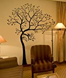 MATTE FINISH BIG Tree with Birds Wall Decal Digiflare Graphics