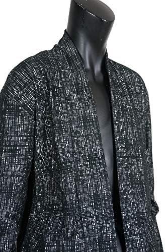 (メンズナーレ) MensNare メンズ モザイクジャガードショールガウン カーディガン 薄手 ロング丈 春物 B020114-02