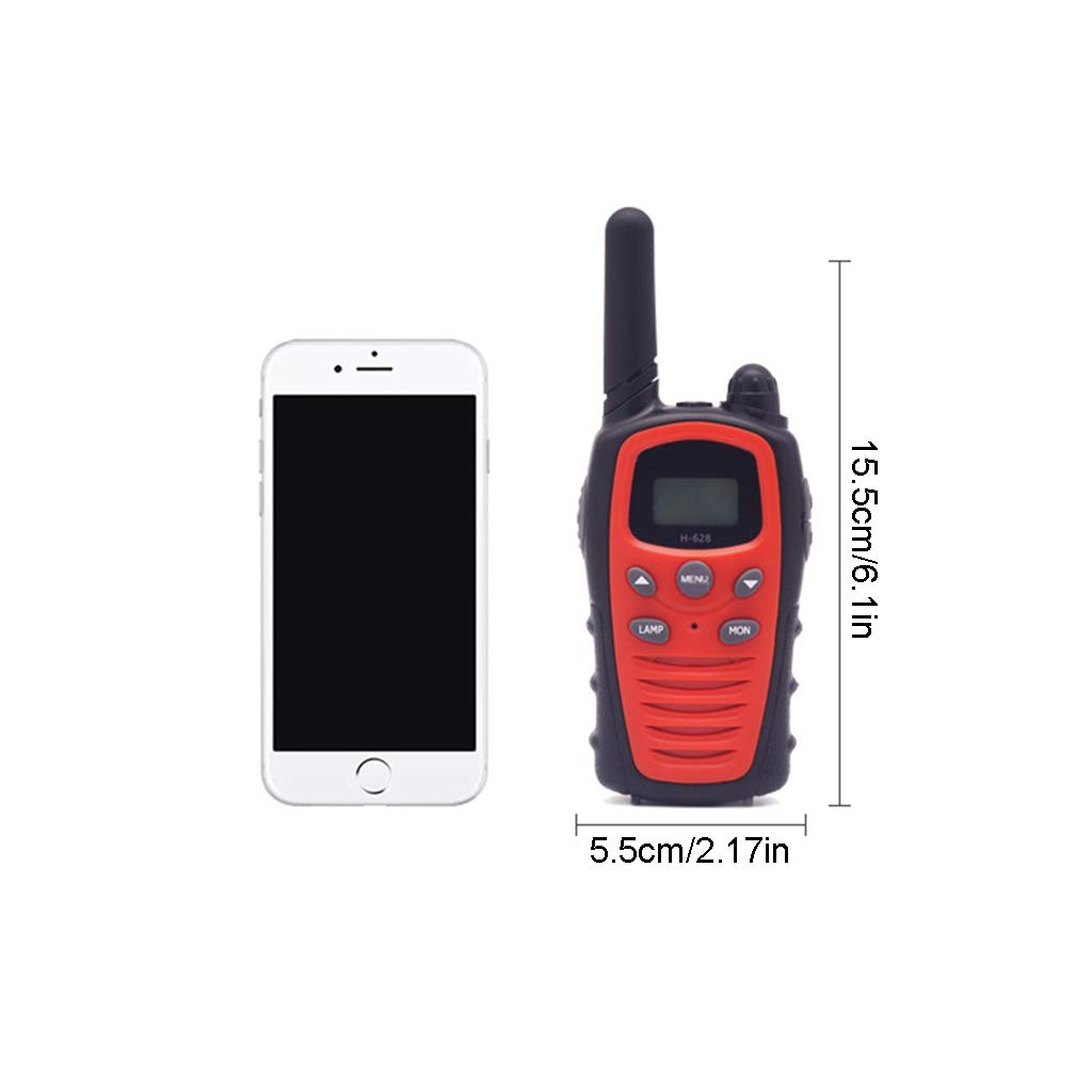 Banbu Toys for 3-12 Year Old Boys, Teen Girl Gifts, Walkie Talkies for Kids Teen Boy Gifts Birthday,Red by Banbu (Image #7)