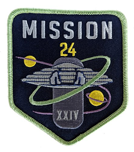 Lost in Space - New Series Mission Patch - Cosplay Sci-Fi Collectible (Large)