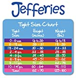 Jefferies Socks Little Girls' Seamless Organic