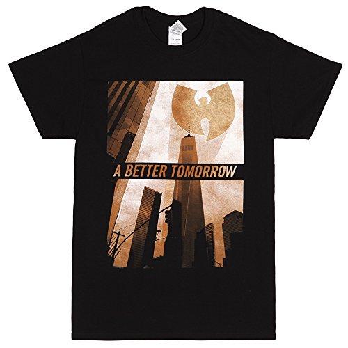 Wu-Tang Clan A Better Tomorrow Adult T-shirt - Black (Medium)