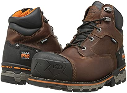Timberland PRO Men's 6 Inch Boondock Comp Toe WP Insulated