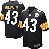 Pittsburgh Steelers Troy Polamalu #43 NFL Youth Game Jersey, Black