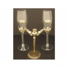 Celtic Champagne Flute Holder