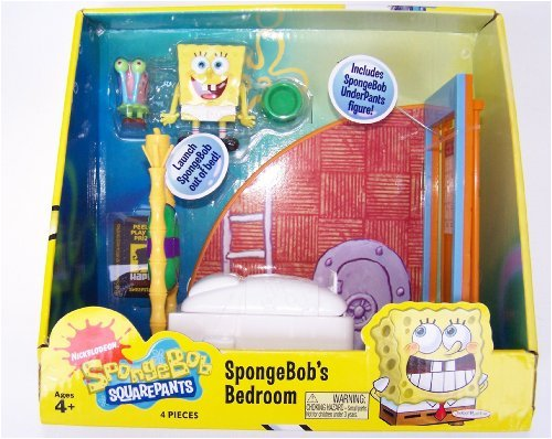 . Amazon com  SpongeBob SquarePants Bedroom Play Set  Toys   Games