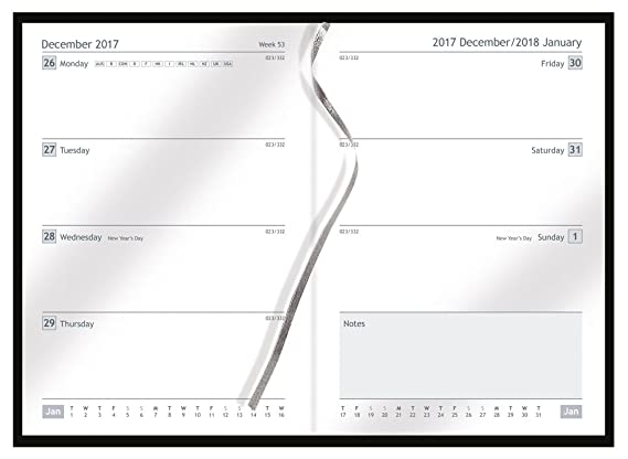 Collins 2017-2018 - Agenda semanal para estudiantes, tamaño ...